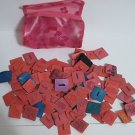 Assortment of Rubber Stamps in Zippered PVC Bag