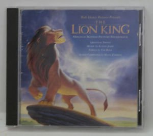 The Lion King Motion Picture Soundtrack By Walt Disney Pictures