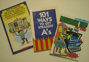 School Study Reference How To Books Set of 3