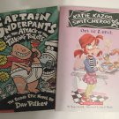 Captain Underpants… & Katie Kazoo Switcheroo Out to Lunch Set of 2 Books