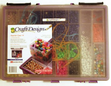 Assorter Storage Case by Craft Design with Hundreds of Beads
