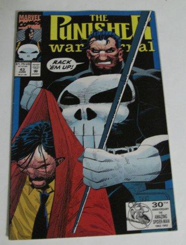 Marvel Comic The Punisher War Journal No 1 vol 43 June 1992