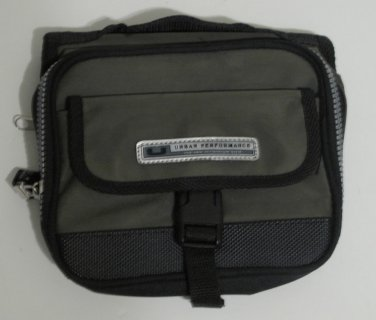 Urban Performance CD DVD Holder Visor Organizer Grey & Black, Zippered