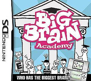 Big Brain Academy  (Nintendo DS, 2006) Game