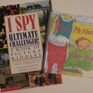 I Spy Ultimate Challenger 2003 & Mrs. McNosh Hangs Up Her Wash 1998 Books