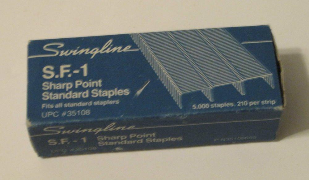 Swingline S. F. -1 Sharpoint Standard Vintage Staples, Vintage Box