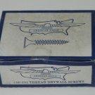 """American Eagle Vintage Size 6 x 1 5/8"""" Fine Thread Drywall Screws 1lb"""