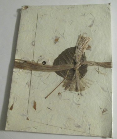 Handcrafted Stationery in Nature Handcrafted Folio, 10 Sheets & 10 Envelopes