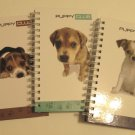 Spiral Bound Hardcover Journals, Puppy Club Series, Set of 3