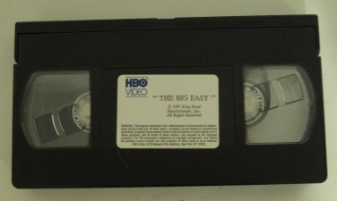 The Big Easy VHS 1987 HBO Video