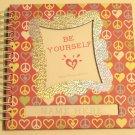 Hardcover Wirebound Girl's Journal Scrapbook Activity Book
