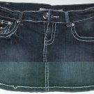 Blue Denim 5 Pocket Mini Skirt, Size M