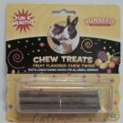 Small Animal Fruit Flavored Chew Twig Treats, Pack of 6