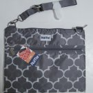 Rume Tablet Tote Bag Gray & White