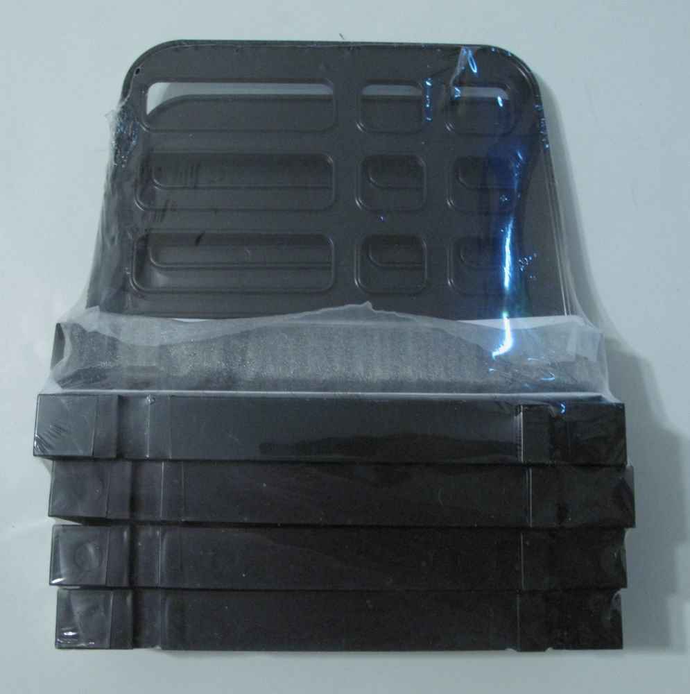 Plastic Black Universal Vertical Add-On Sorter - UNV08113 - 2 Item Bundle
