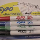 Expo Ultra Fine Tip Dry Erase Markers Pack of 4 1871133