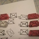 Snail mail rubber stamp hand made on carving block