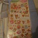 Kawaii San-x Rilakkuma forest sticker sheet 4 just released!