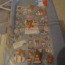Kawaii San-x Rilakkuma bonjour sticker sheet 1