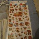 Kawaii San-x Rilakkuma bonjour sticker sheet 4