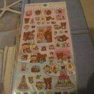 Kawaii San-x Rilakkuma bonjour sticker sheet 5