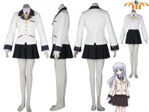 Angel Beats Cosplay Costume, Size: XS - XXL!
