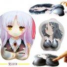 Angel Beats 3D Mouse Pad, Size:27 x 22cm!
