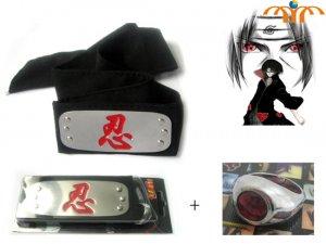 Naruto Anime Cosplay Headband And Ring 2!