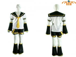 Miku Hatsune Cosplay Costume 1, Any Size!