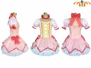 Puella Magi Madoka Magica Anime Costume 4, Any Size!
