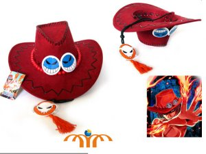 One Piece Ace Cosplay Hat!