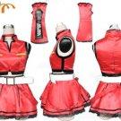 Miku Hatsune Cosplay Costume 23, Any Size!
