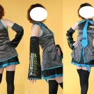 Miku Hatsune Cosplay Costume 31, Any Size!