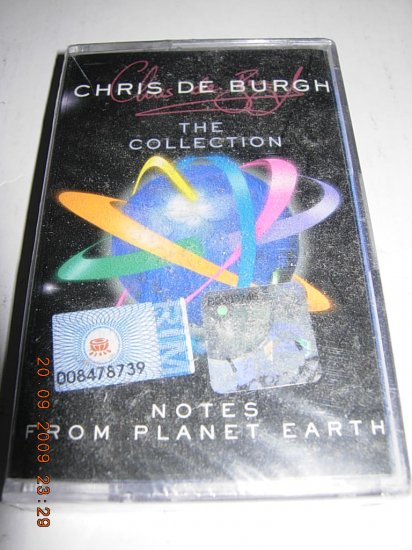 CHRIS DE BURGH - THE COLLECTION (MALAYSIA CASSETTE)