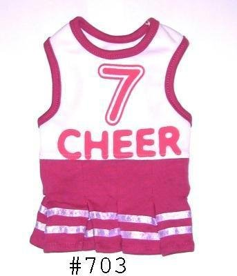 "Doggie's Dress - ""Cheer"" Design"