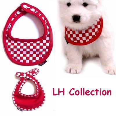 Pet Reversible Scarf - Checked Design