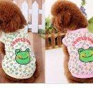 Doggie Tee - Cutie Frog Design
