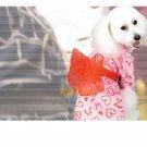 Doggie Kimono -floral printed design