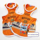 "Doggie Cotton Vest - ""Stitch"" Design (Small Dog Size)"