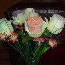 Votive Rose Bouquet
