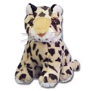 """100% Soy Wax Dipped """"Leo"""" the Leopard"""