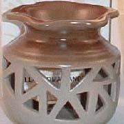 Beige Ceramic Oil/Tart Warmer