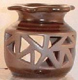 Brown Ceramic Oil/Tart Warmer