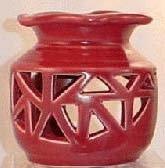 Red Ceramic Oil/Tart Warmer