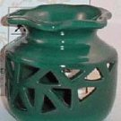 Green Ceramic Oil/Tart Warmer
