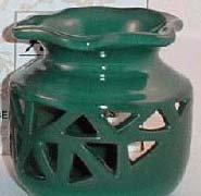 Green Ceramic Oil/Tart Warmer