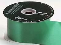 Wide Emerald Satin  (100 yards)