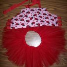 Lady Bug Corset Top W/ Matching Red Tutu