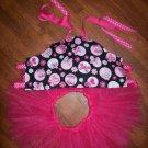 Butterfly Corset W/ Matching Hot Pink Tutu