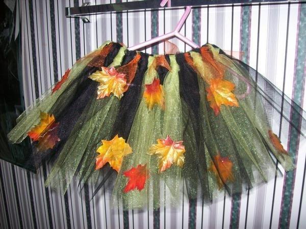 Falling Leaves Tutu